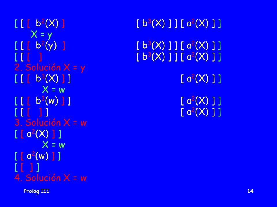 [ [ [ b2(X) ] [ b3(X) ] ] [ a2(X) ] ] X = y